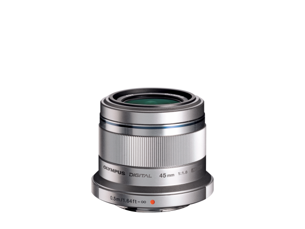 Olympus M.Zuiko Digital 45mm F1.8 / ET-M4518 silver