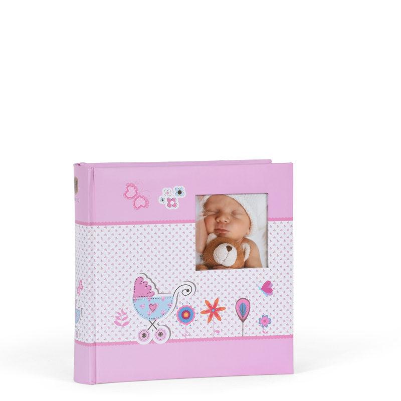 Henzo Foto album S Baby Moments roze 98.411.12