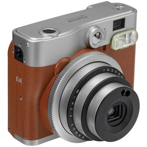 Instax Mini 90  Retro camera bruin