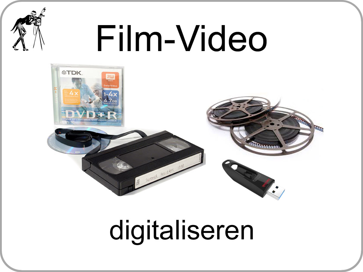 Uw kostbare Super 8 of video band laat u toch op tijd digitaliseren