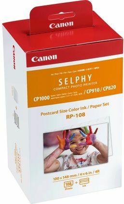 Canon RP-108 inktcartridge + 10x15 papier (origineel)