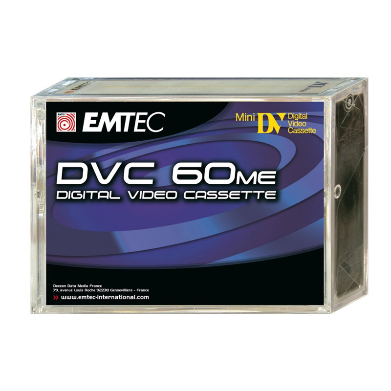 Emtec DVC 60 me Mini DV Tape