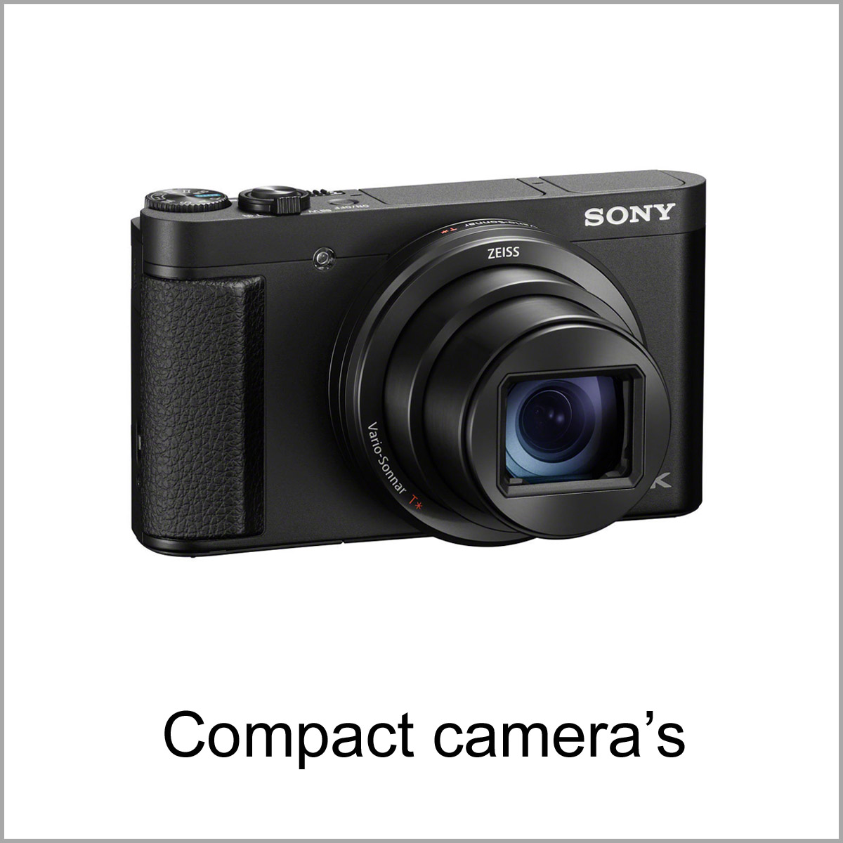 onze Digitale compact camera's