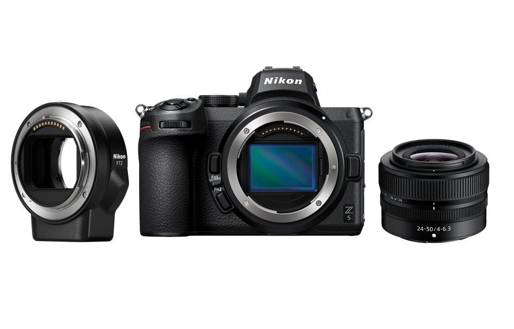 Nikon Z5 + Nikkor Z 24-50mm f/4-6.3 + FTZ Mount Adapter