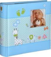Henzo Fotoalbum S Baby Moments blauw, 98.411.07